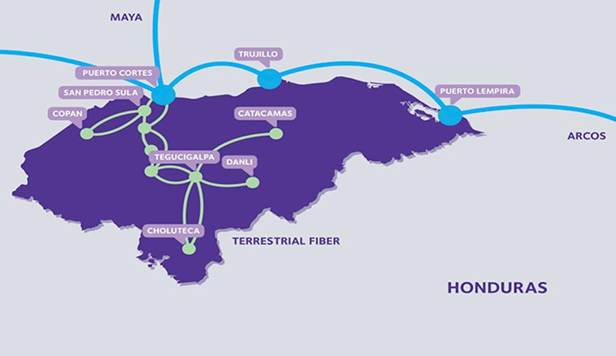 Network Map for Honduras