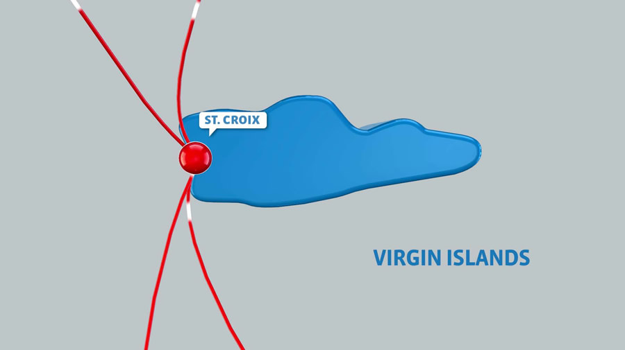 Network Map for British Virgin Islands