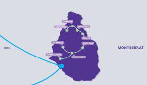 Network Map for Montserrat